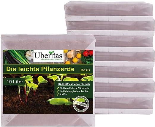 Uberitas Pflanzerde Tierra para plantas, Na: Amazon.es: Jardín