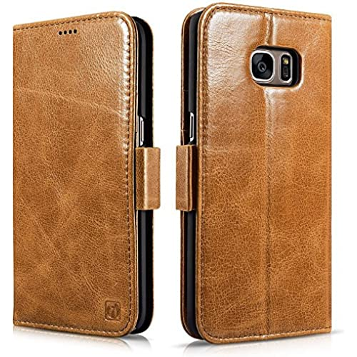 Galaxy S7 Edge Case, Icarercase Detachable 2 in 1 Wallet Folio Leather Case, Stand Feature with Card slot and Sales