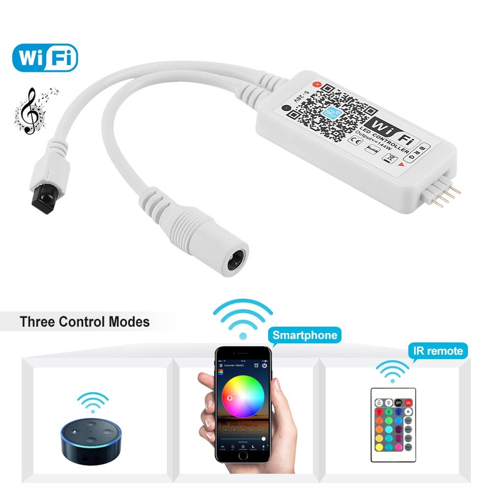 Best Rated In Home Automation Hubs Controllers Helpful Customer Led Strip Wiring Basics Nexlux Wifi Wireless Smart Controller Alexa Google Ifttt Compatibleworking With Android