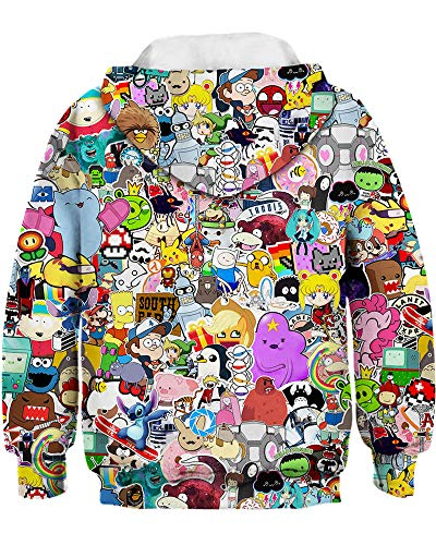 Hoodie Zoo Amoma Fille Amoma Anime Anime Zoo Amoma Hoodie Fille Fille Anime Hoodie 1SCBxwnAq