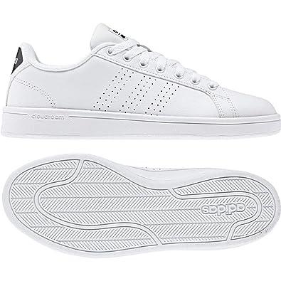 buy popular 48021 4f9c6 adidas CF Advantage Cl W, Chaussures de Fitness Femme, Blanc Cassé (FTWR  White
