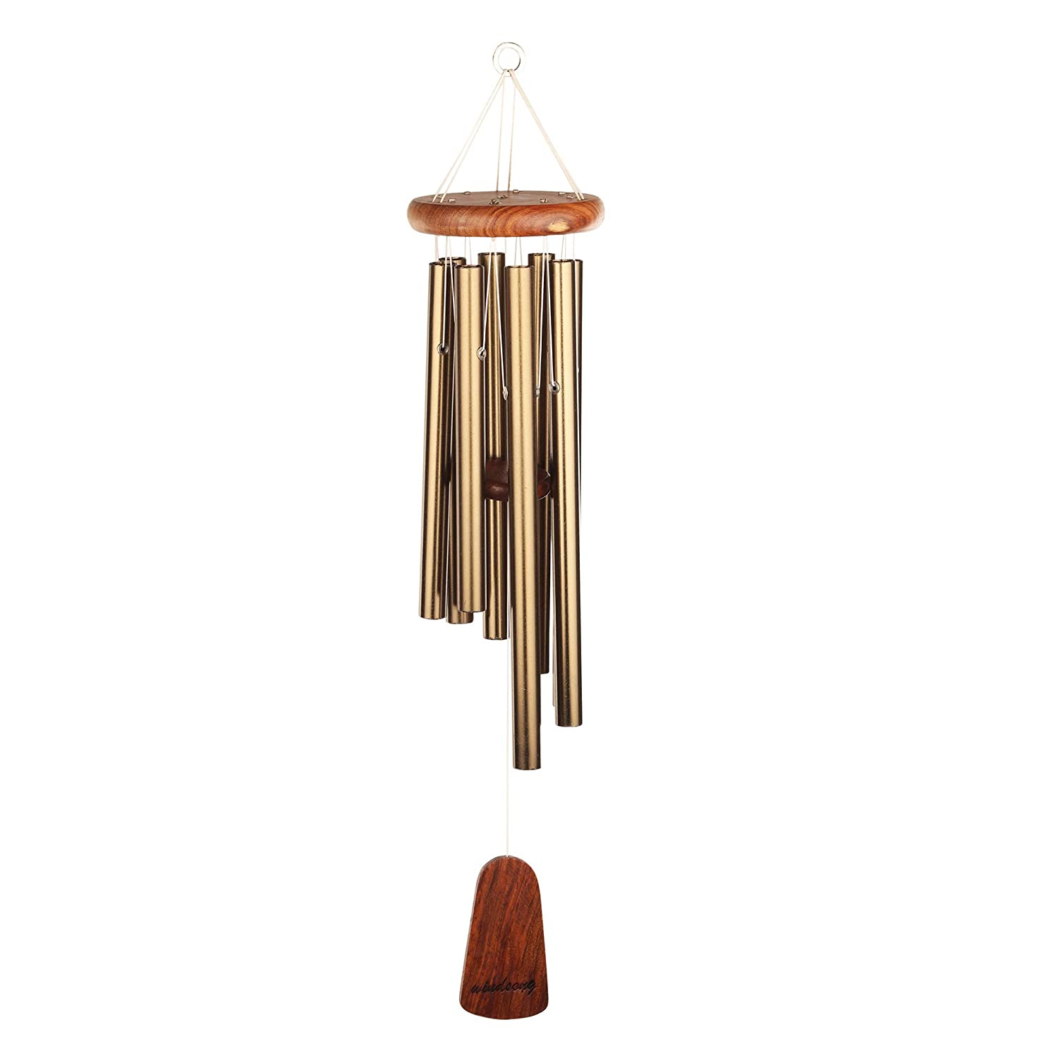 Windsong Chimes Bells Bell Wind Chimes Beechwood Bronze 15x5x3 Inc Amazon In Home Kitchen