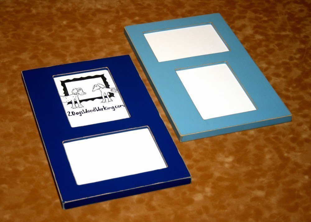Amazon.com: Collage picture frame holds 2) 4x6 vertical & horizontal ...