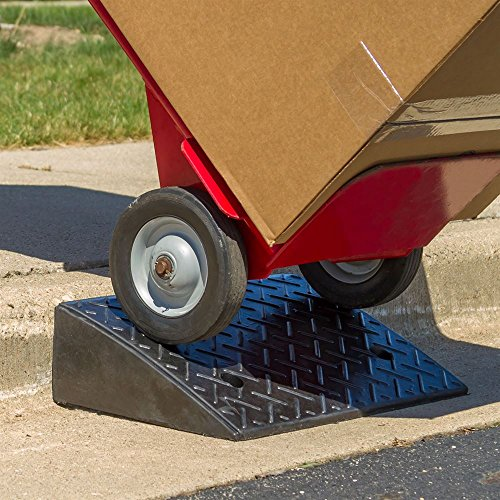 Guardian Industrial Products Rage Powersports DH-UP-5 Loading Dock Rubber Curb Ramp (40,000 lb.),1 Pack by Guardian Industrial Products (Image #1)