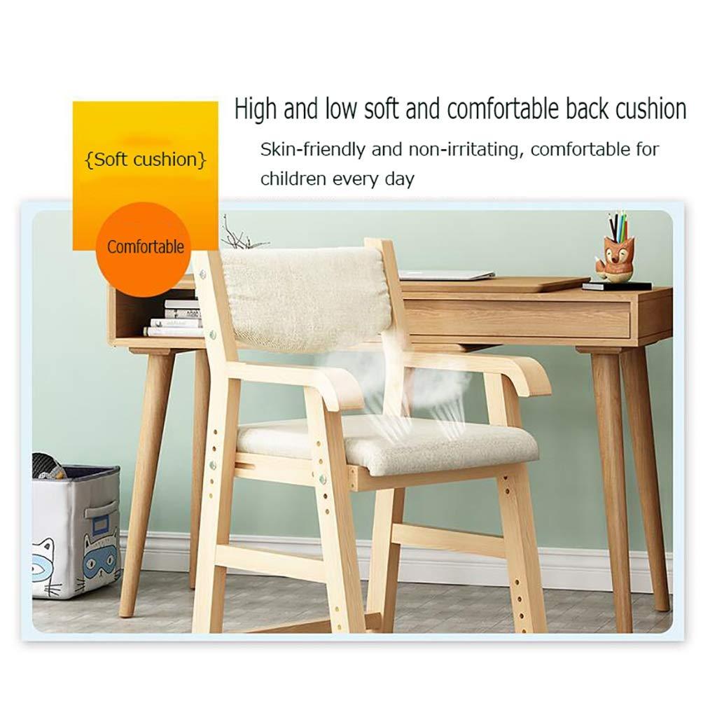 ZWJLIZI Studiestol, justerbar stol i hemmet, hållning korrigeringsstol/dator skrivstol (färg: E) jag