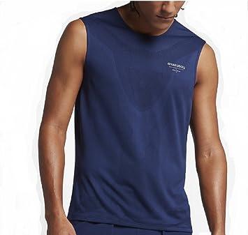 NikeLAB GYAKUSOU M NK DRY TANK RACER 865207-410 BINARY BLUE  Amazon.co.uk   Sports   Outdoors c288577bf9f2