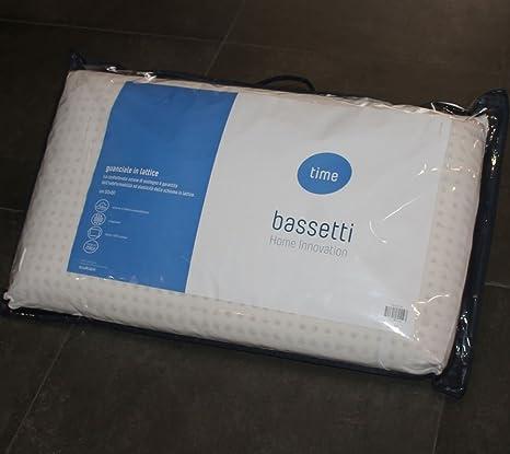Cuscini Bassetti.Guanciale In Lattice Saponetta Bassetti Time 50x80 Cm N222 Amazon