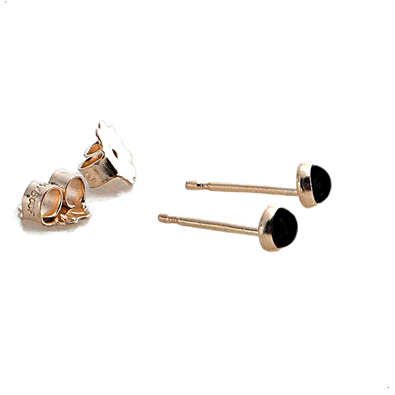 Onyx colored earrings