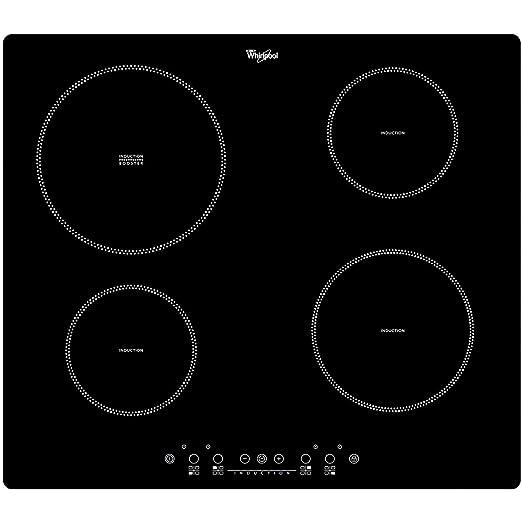Whirlpool ACM 838/NE Incasso A induzione Nero piano cottura