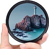 37mm ND Filter Slim Variable ND Neutral Density Filter Adjustable ND Fader ND2-ND400 Lens Filter for Canon Nikon Sony Pentax