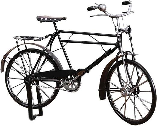 XF Decoración del hogar American Retro Vintage Modelo de Bicicleta ...