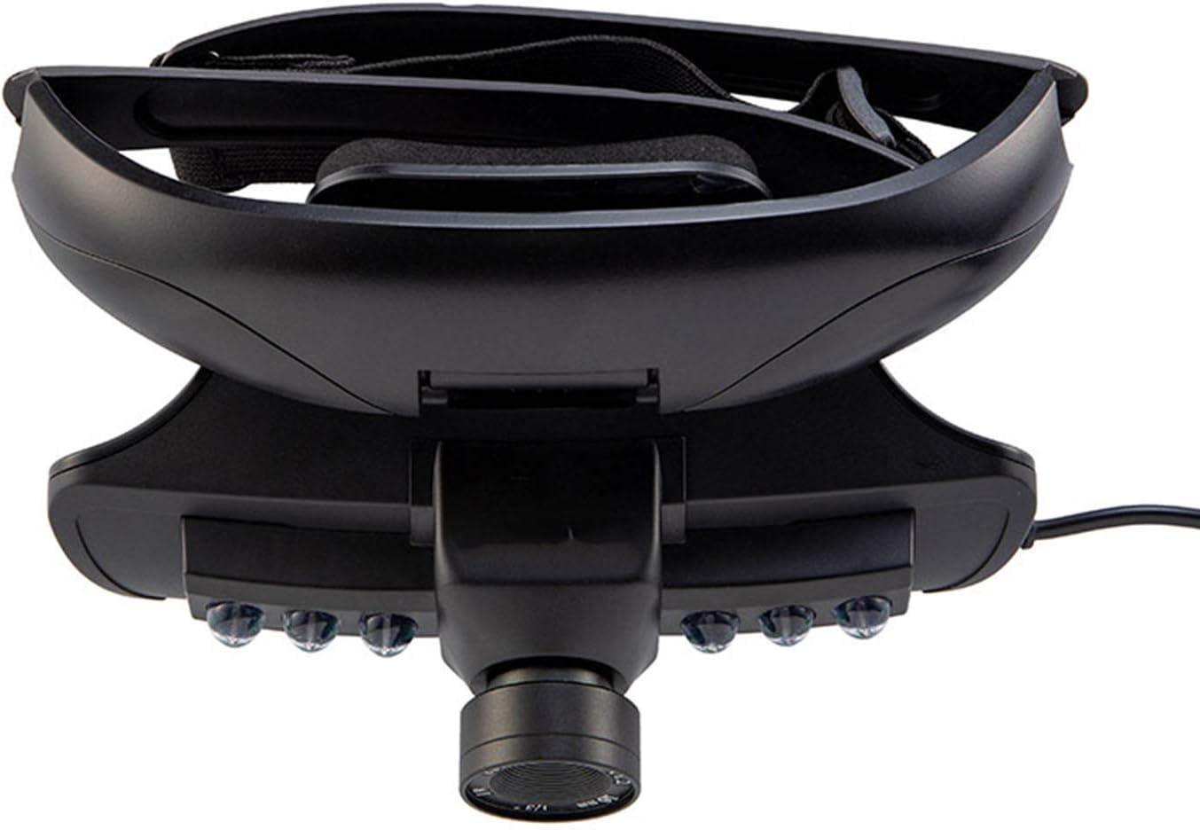 YAMADIE Headset Infrared Night Vision Device HD Digital Helmet Night Vision Instrument Night Binoculars