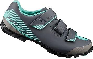 SHIMANO SHME2PG390WL00 - Zapatillas Ciclismo, 39, Negro - Verde, Mujer: Amazon.es: Deportes y aire libre