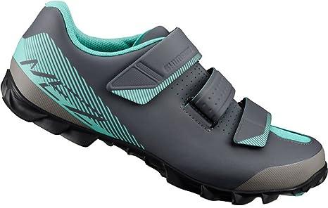 SHIMANO SHME2PG360WL00 - Zapatillas Ciclismo, 36, Negro - Verde, Mujer