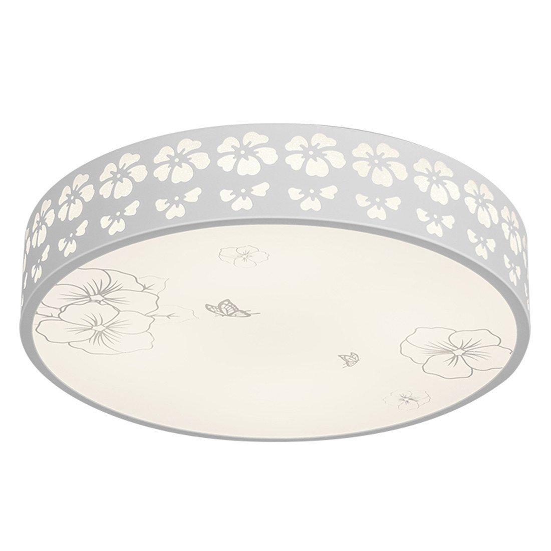MEIHOME Deckenleuchten LED Rundschreiben Schneeflocken D 40 CM 3 Farbe 24W Deckenlampe für Schlafzimmer Wohnzimmer Küche Badezimmer