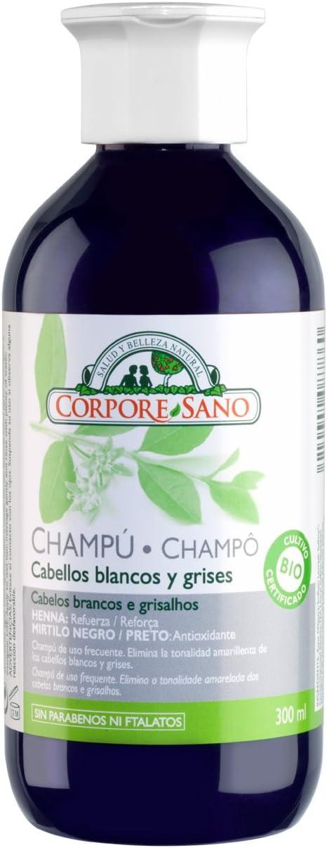 CHAMPU CABELLOS GRIS-BLANCO 300ml