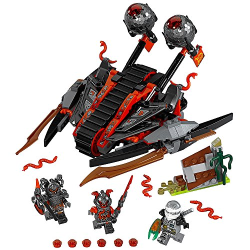 LEGO NINJAGO Vermillion Invader 70624 Fun Toy (Best Lego Sets Of All Time)