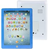 GOTD Child Touch Type Computer Tablet English Learning Study Machine Toy Blue