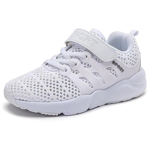KVbaby Sandali Sportivi per Ragazzi Estive Esterni Mesh Traspirante Sneakers  Ragazze Scarpette per Sport Antiscivolo Sandali abf8a6cc44f