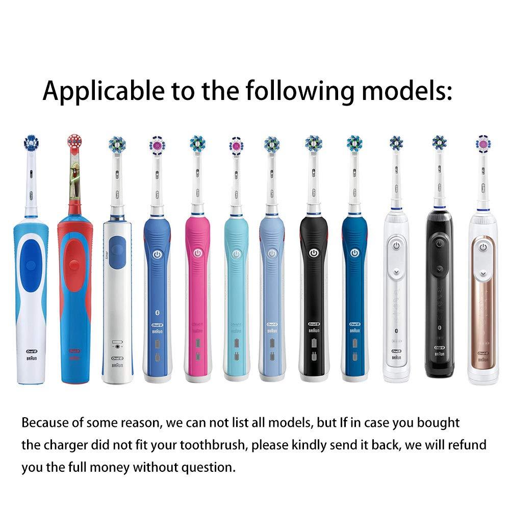 Cargador de cepillo de dientes eléctrico para los cepillos de dientes Oral-B, conexión de puerto USB universal: Amazon.es: Salud y cuidado personal