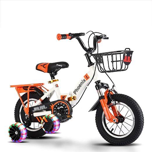 BAICHEN Bicicleta de niños Plegable portátil Bicicleta para niños ...