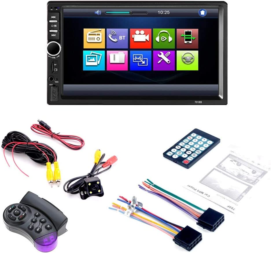 """1 Din FM MP5 Player 9/"""" Touch Screen Stereo-Autoradio For Android 8.11 Kamera 90"""