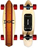 Nilox 30NXSKMO00004 Skate Eléctrico, Unisex Adulto, marrón, 81 x 13 x 23