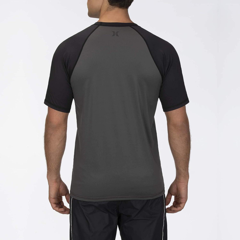 Lycra Hombre Hurley M Icon Raglan Surf Shirt S//S