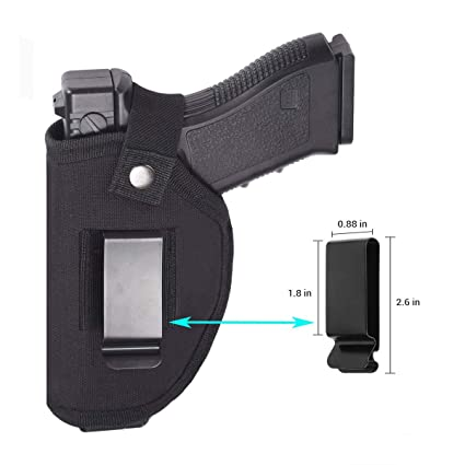 Purposeful Right Or Left Handed Waist Belt Holster Iwb Owb Pistol Carry Case Universal Hand Gun Pouch Electric Lock