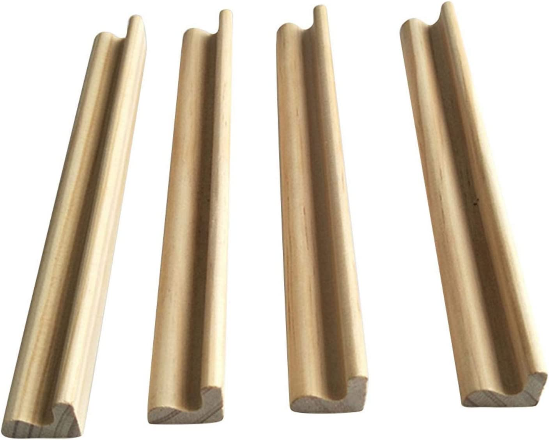 B//S 4 soportes de madera para domin/ó o domin/ó para juegos de domin/ó
