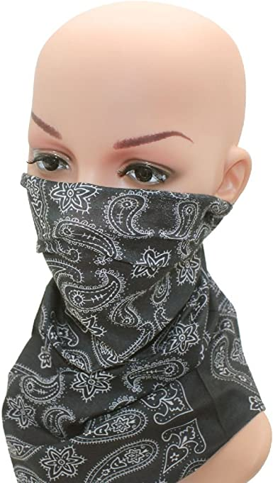 Full Function Face Mask Neck Tube Scarf Ski Biker Snood Balaclava Bandana Warmer