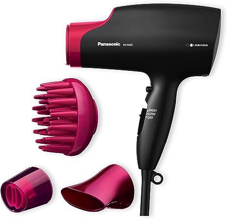 Panasonic Eh Na65 K825 Sèche Cheveux Avec Diffuseur | Nanoe (Technologie Ionique Avancée) | Protection Des Cheveux | Style Professionnel | 2000 W,