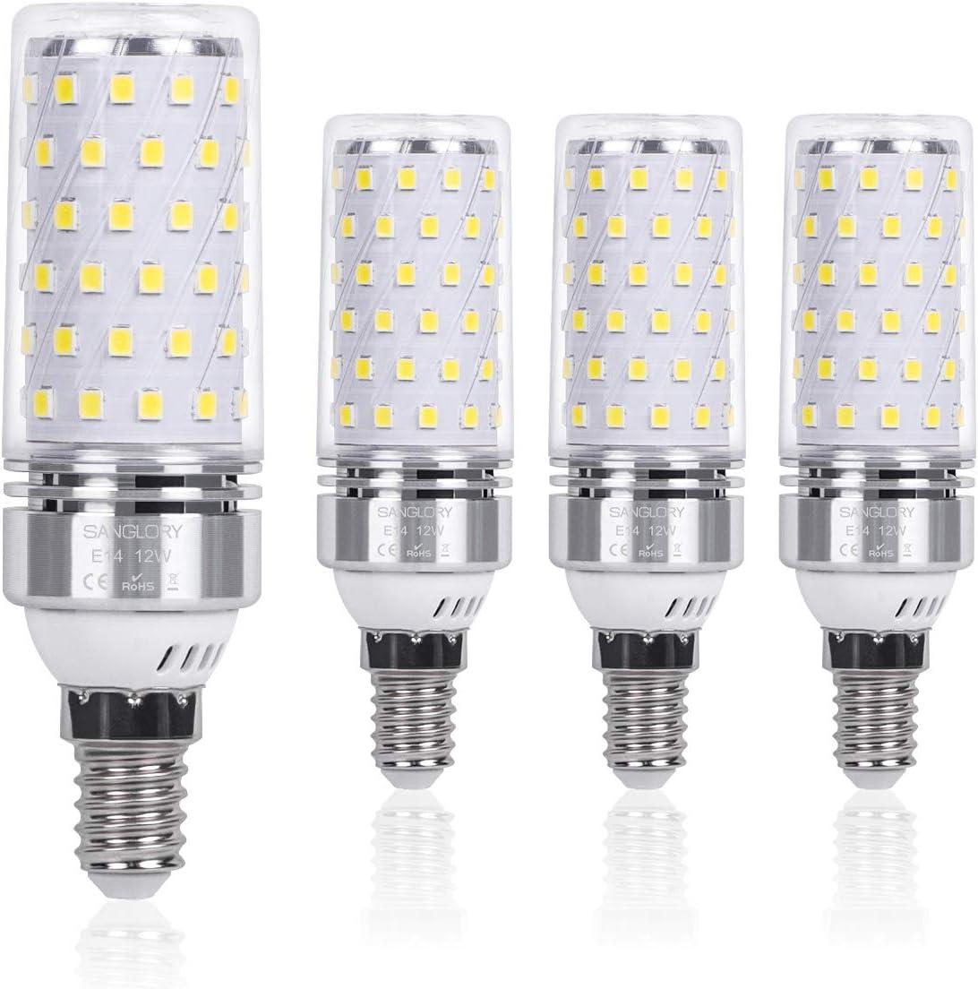 SanGlory E14 LED Mais Glühbirnen 12W - E14 LED