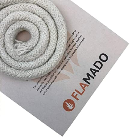 Flamado - Junta para Horno (cerámica, Puerta de 12 mm, 2 m)