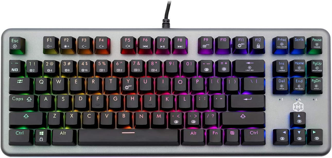 Hexgears Nova Mechanical Keyboard Box Brown Switches, Black