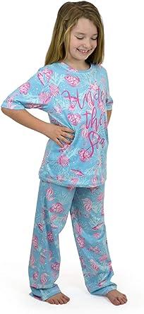 Lora Dora Pijama largo corto de sirena, unicornio, pug
