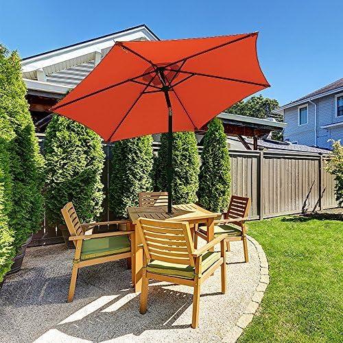 COBANA 7.5ft Patio Umbrella Outdoor Table Market Umbrella