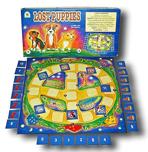 Family Pastimes Lost Puppies - An Award Winning Co-operative Strategy Game -