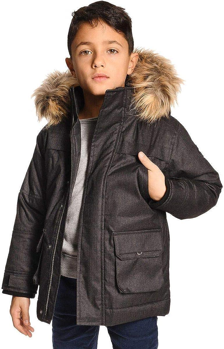 Appaman Kids Boy's Denali Down Coat w/Faux Fur Hood (Toddler/Little Kids/Big Kids): Clothing