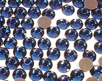 Strass Steine Hotfix Rhinestones 100 Stück PERIDOT Ø2mm