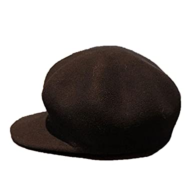 717582a79d9 Unisex Warm French Fashion Wool Warm Peaked Beret Hat Flat Caps With Visor  Multicolor