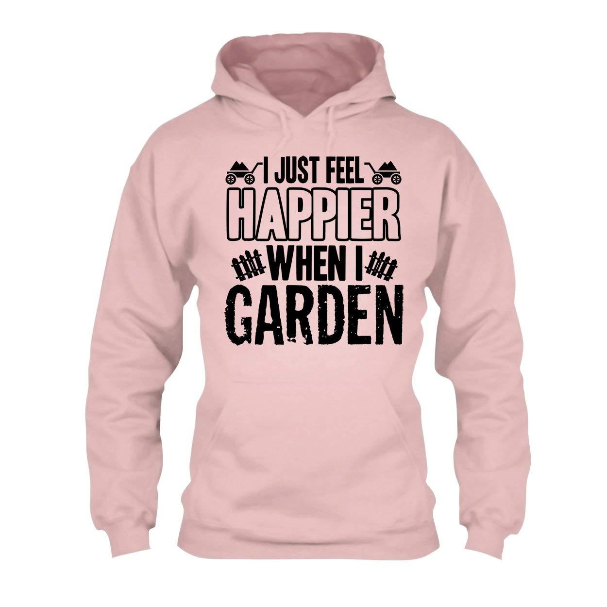 Hoodie Happy When I Garden Tee Shirt Sweatshirt