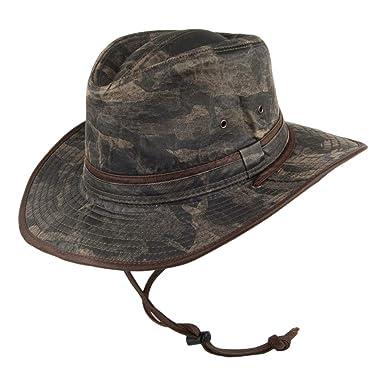 Dorfman Pacific Hats Camo Outback Hat - Camouflage  Amazon.co.uk ... 6b1f3093409
