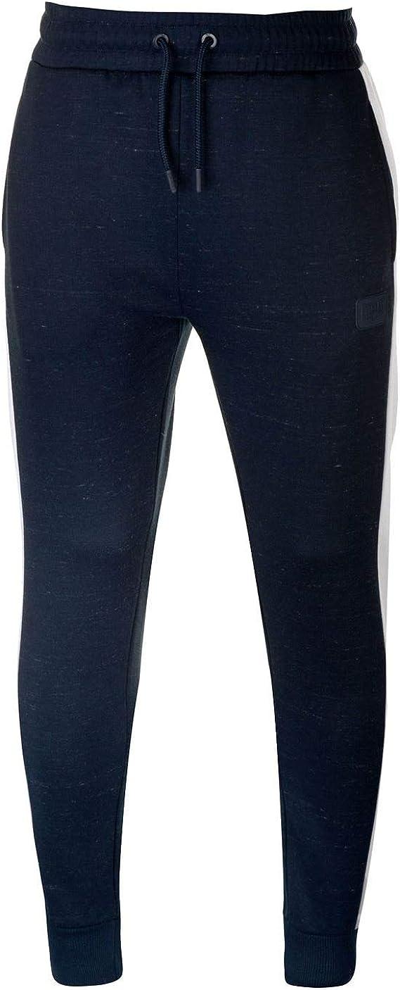 Everlast Hombre Bronx Pantalones De Jogging Azul Marino L ...