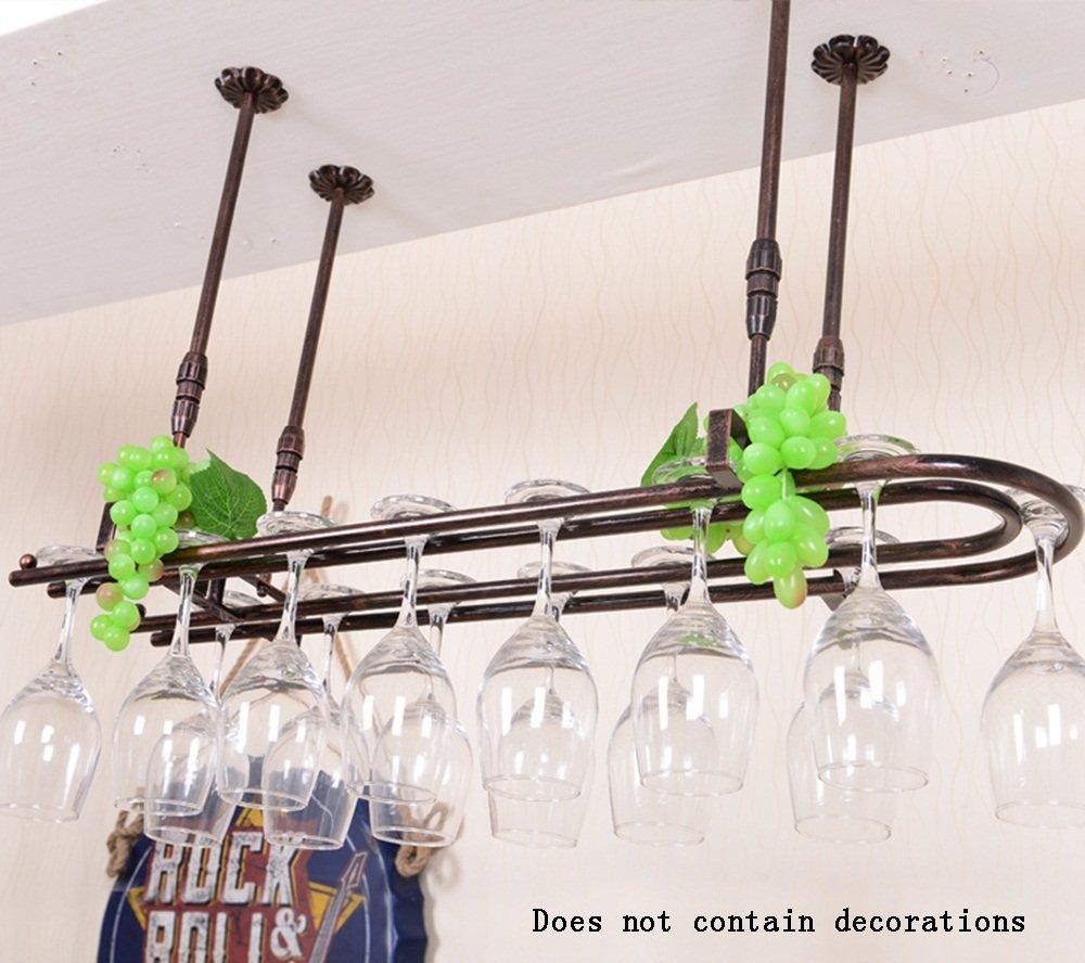 salón de la Barra Decoraciones del hogar Colgante Wadse Estilo Industrial Moderno Estantes del Vino/sostenedor Colgante de la Taza del Vino/Estante de los goblets by Virtper
