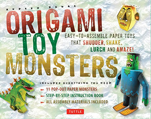 Origami Toy Monsters Kit: Easy-To-Assemble Paper Toys That Shudder, Shake, Lurch and Amaze!: Kit with Origami Book, 11 Cardstock Sheets & -