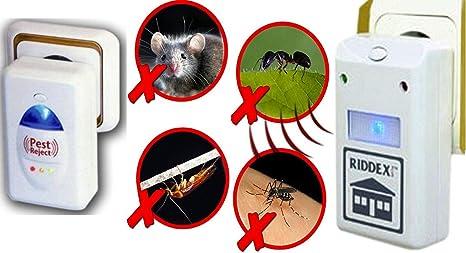 Repellente Ad Ultrasuoni Scaccia Insetti Per Scarafaggi Blatte Formiche Topi Roditori Amazon It Giardino E Giardinaggio