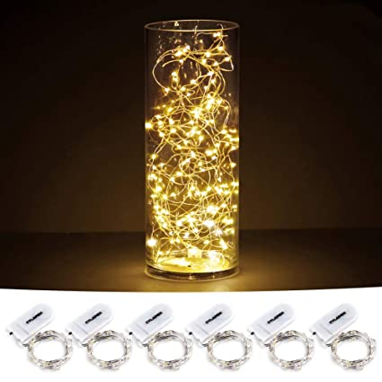 Starry String Lights Awesome Amazon CYLAPEX Pack Of 60 LED Starry String Lights With 60 Micro
