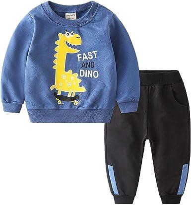 Oferta amazon: Coralup Chándales de camuflaje para niños pequeños + pantalones 2 piezas de algodón para niños conjuntos de ropa verde 5-6 años Talla 18-24 meses
