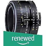 (Renewed) Nikon 50mm Nikkor F/1.8D AF Prime Lens for DSLR Camera